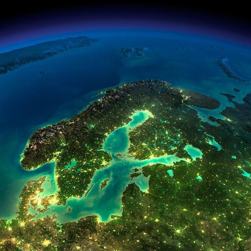 25 потрясающих фотографий Земли из космоса