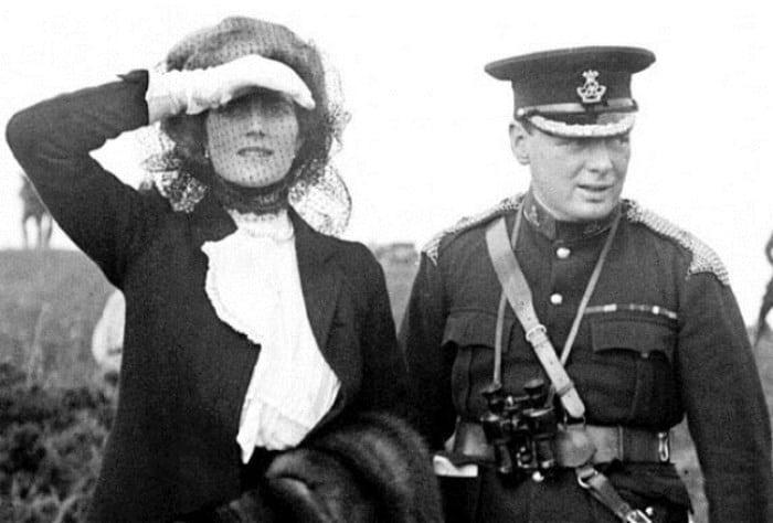 57 лет вместе: Уинстон Черчилль и Клементина Хозьер. В их любовь не верил никто!
