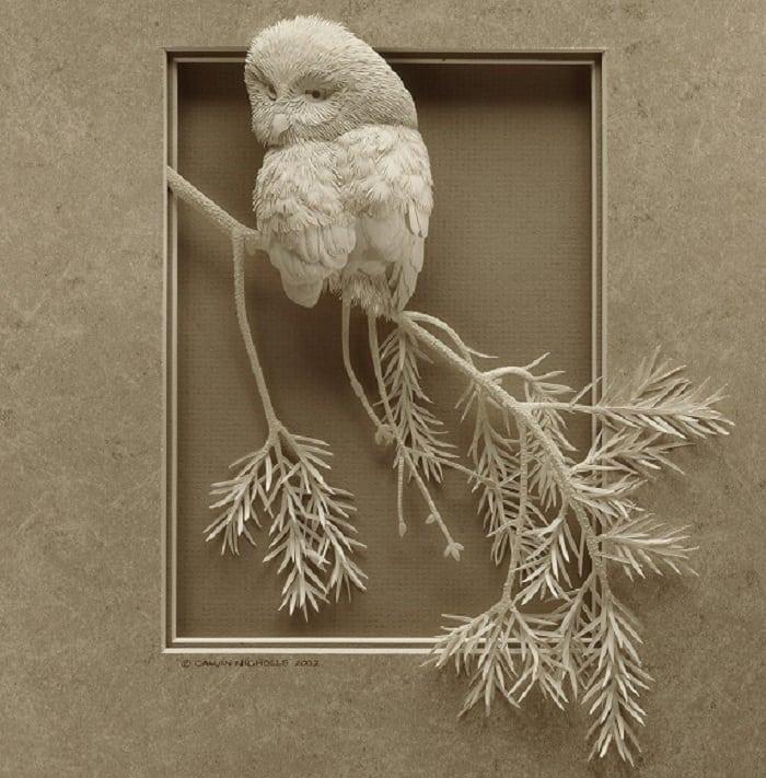 Безумно красивые картины из бумаги от великолепного художника