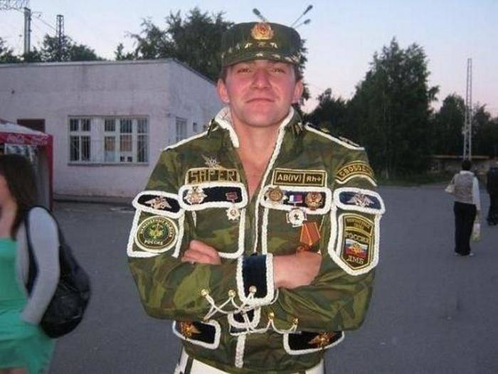 Дембельский альбом: 50 нелепых нарядов солдат