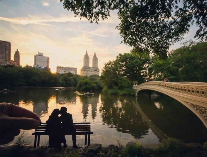Фотограф, который путешествует по миру и делает оригинальные кадры мировых достопримечательностей