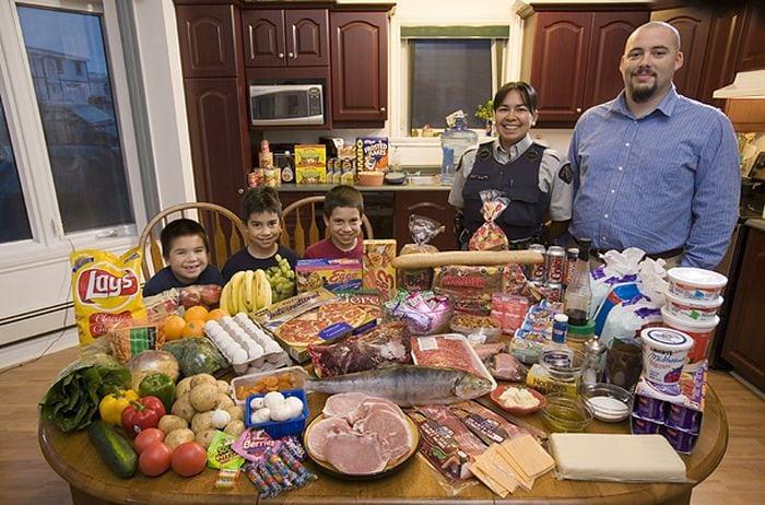 Голодная планета: проект, который покажет что едят семьи в разных странах
