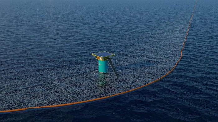 Молодой юноша придумал способ очистить моря от пластикового мусора