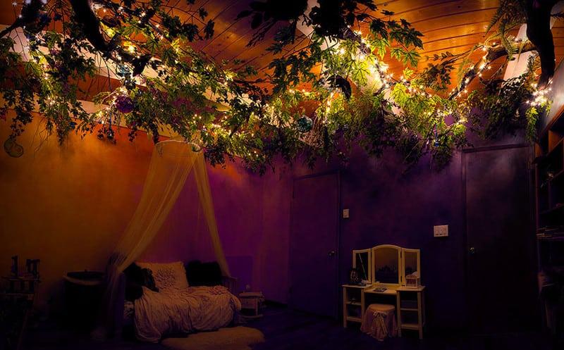 Папа сделал любимой дочке сказочную комнату о которой она мечтала