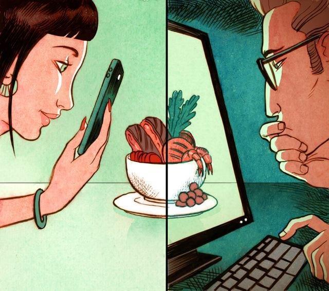 Проблемы нашего времени в карикатурах известного художника
