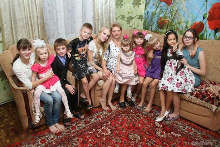Реальная история о женщине, у которой 20 детей