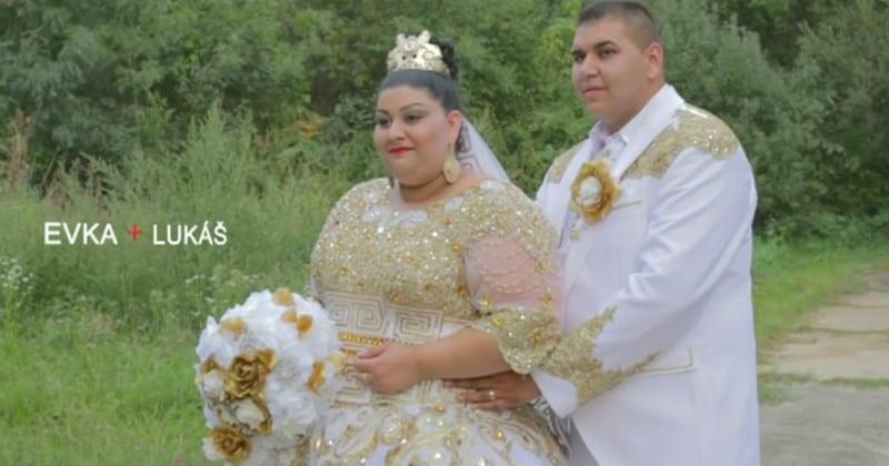 Шикарная цыганская свадьба поразила весь Интернет!