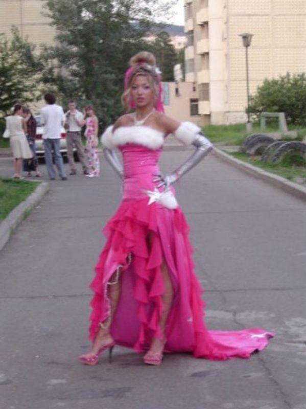 Фото необычные платья на выпускном