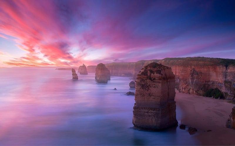 Уникальная природа австралийского парка Порт Кэмпбелл