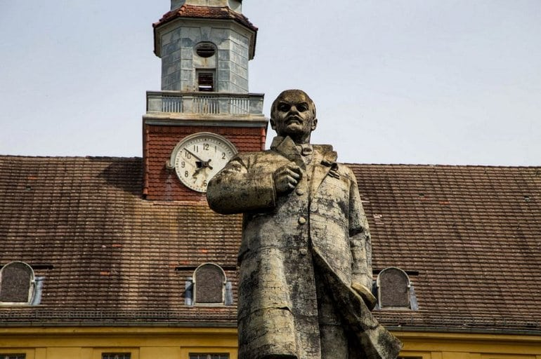 Забытый город советских солдат в Германии - Вюнсдорф