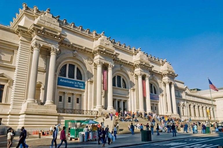 Музей искусств в Нью-Йорке - Метрополитен