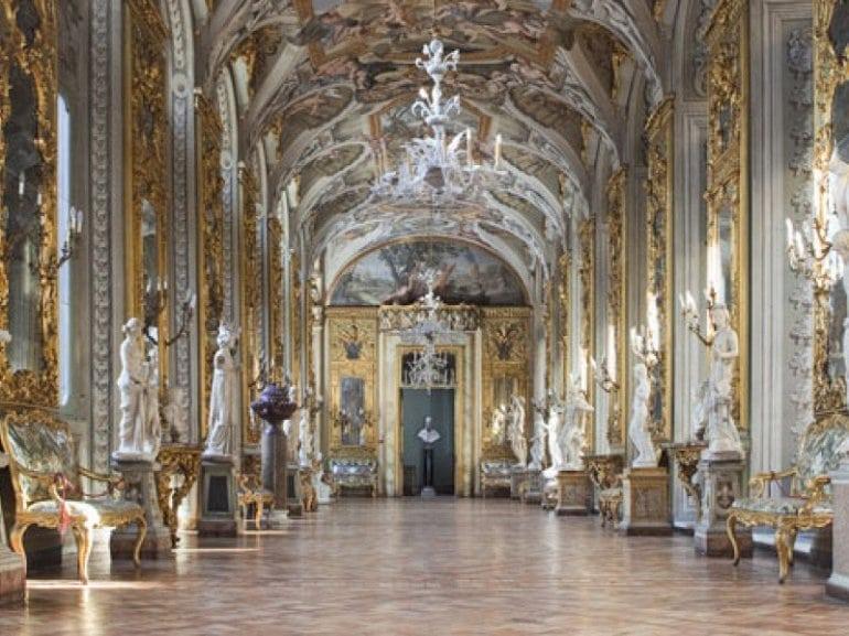 Самый большой и великолепный дворец Рима - Дориа Памфили