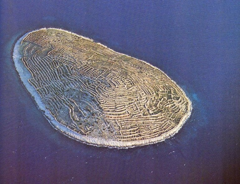 Удивительный остров в виде отпечатка пальца в Хорватии