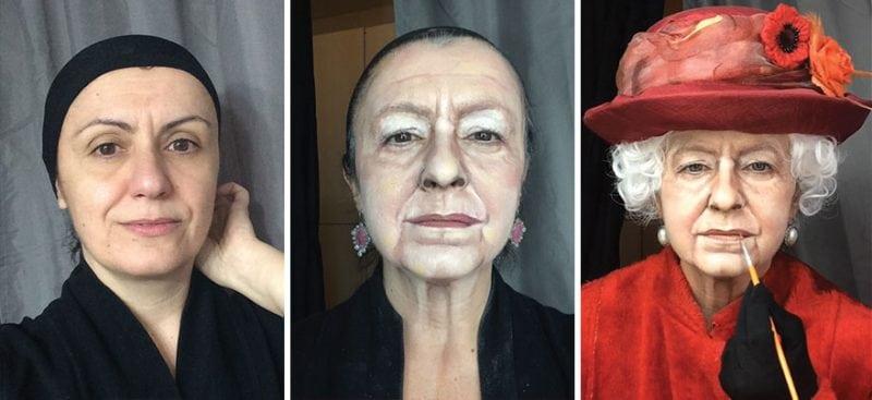 Люсия Питталис — визажист, которая мастерски перевоплощается в знаменитостей