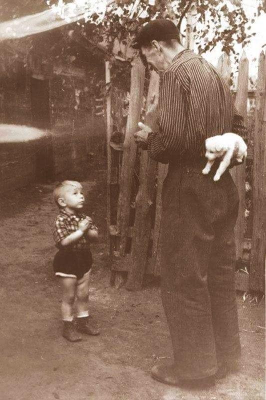 13 потрясающе милых фотографий из прошлого