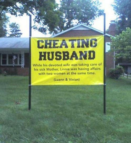 16 женщин, которые не простили мужа за измену и...отомстили!