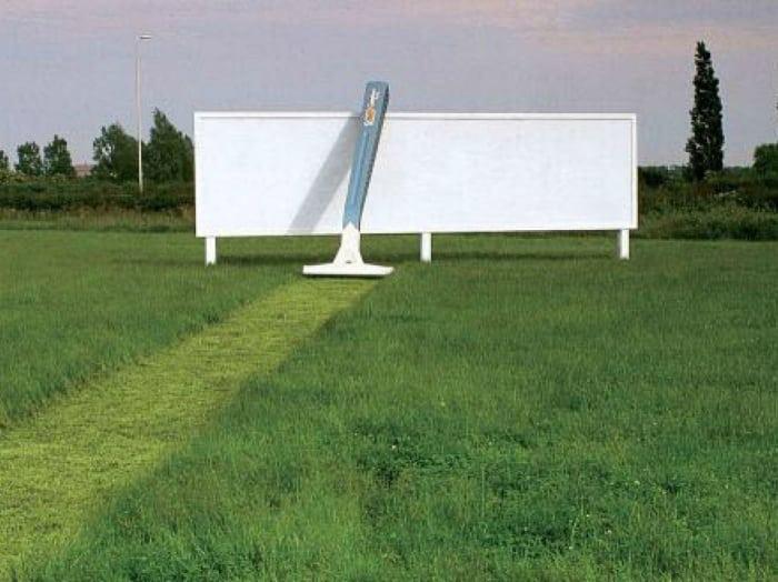 20 фотографий гениальной рекламы, на которую точно стоит обратить внимание