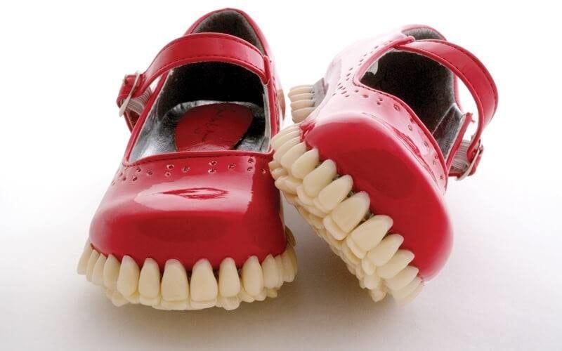 сумасшедший дизайн обуви