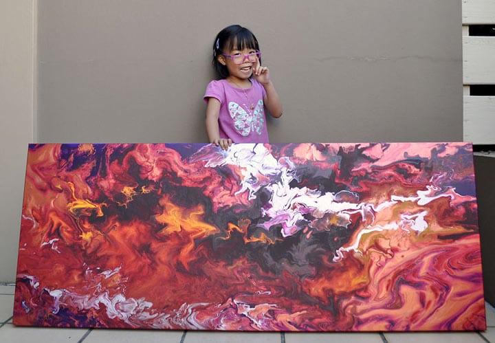 5-летняя художница
