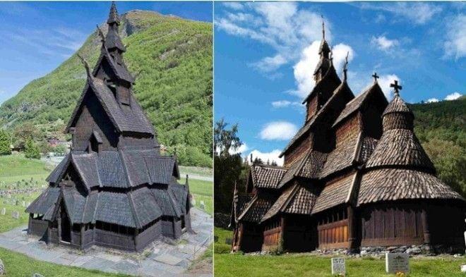 6 европейских храмов, построенных без единого гвоздя