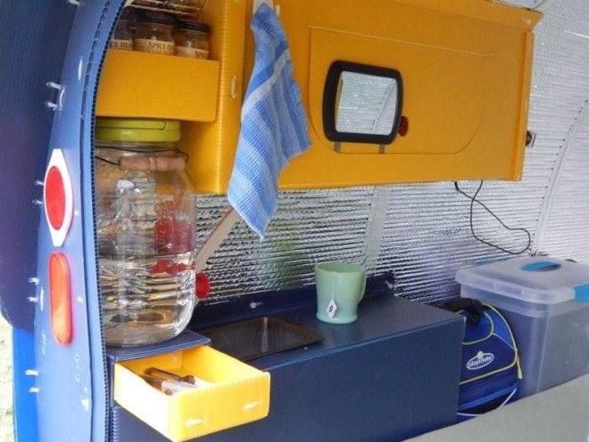Американец построил фургон для путешествий всего за 150 долларов