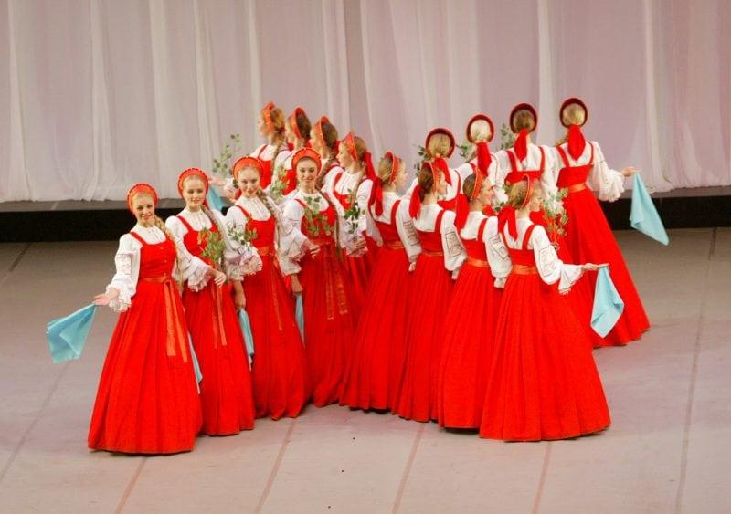 Танец Березка
