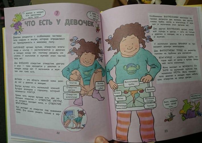 Детская книга о половом воспитании повергла меня в ступор! Это нормально?