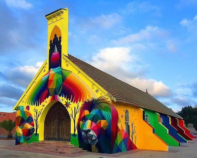 церковь в Испании