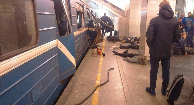 терракт в питерском метро