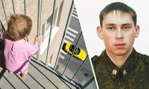 Мужчина поймал 3-летнего ребенка, который выпал с 6 этажа. Настоящий герой!