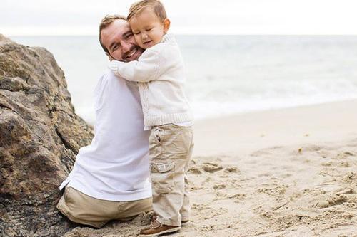 Ник Вуйчич и его сын