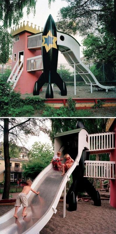 Оригинальные детские площадки от которых в восторге как дети, так и взрослые