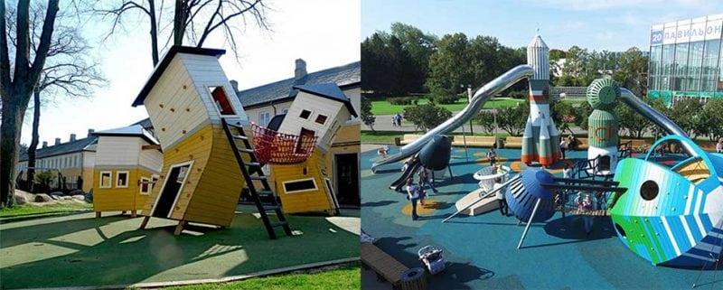 потрясающая площадка для детей