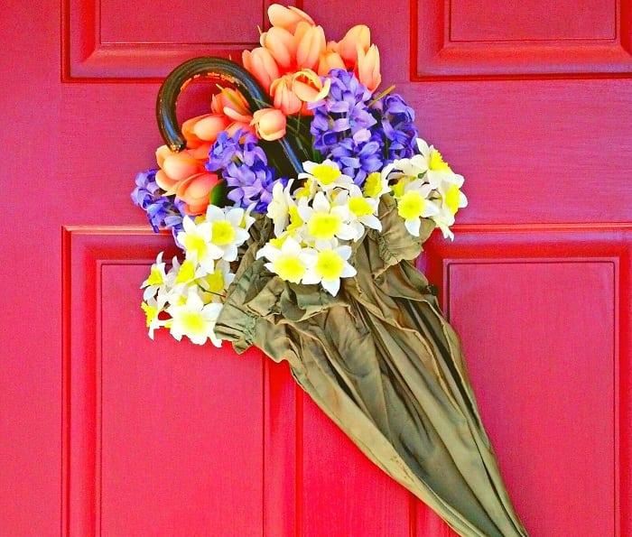 цветочные композиции из зонтов
