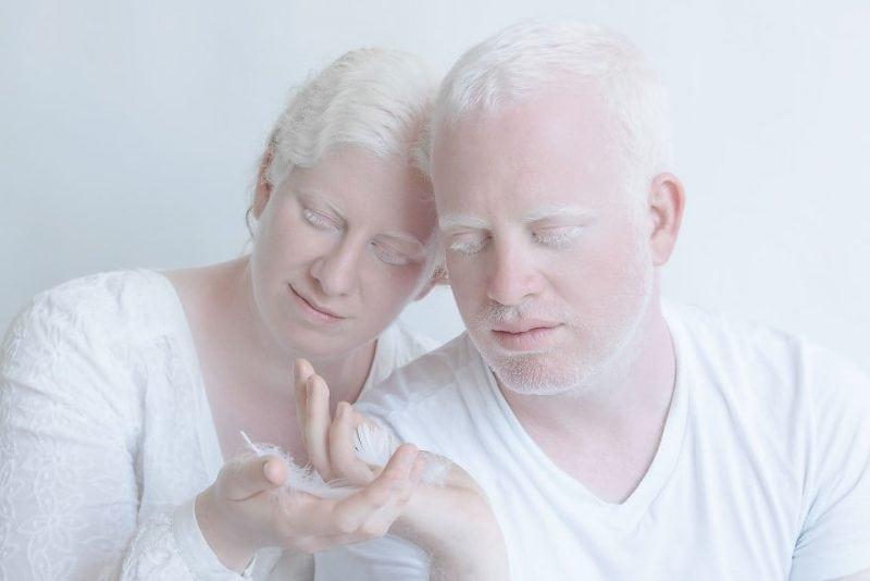 Прекрасный фотопроект Юлии Тайц с людьми-альбиносами
