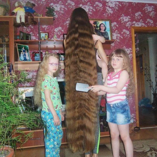 Рапунцель из Барнаула покорила весь мир своими волосами