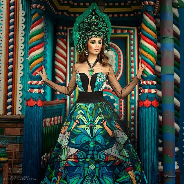 Русский фольклор в фотопроекте Маргариты Караевой