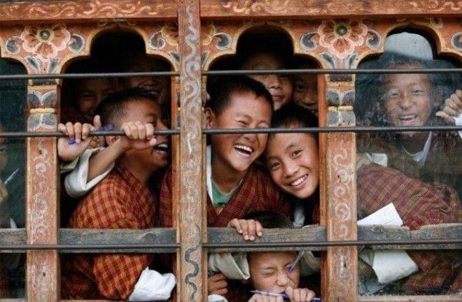 самые счастливые люди Бутана
