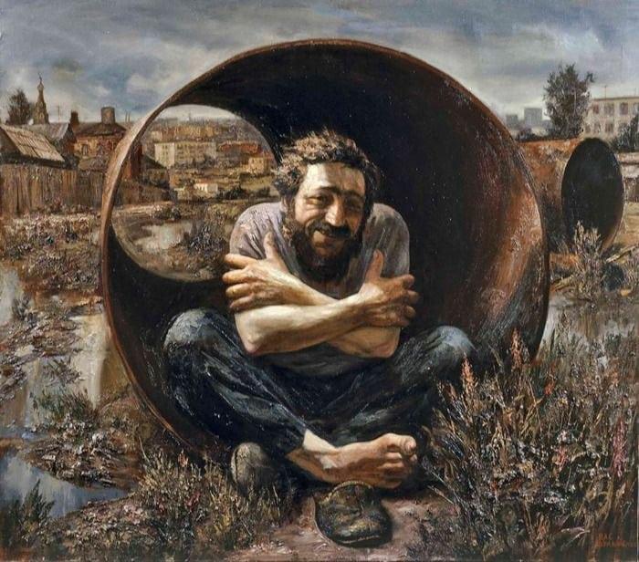 Жизнь как она есть: российские деревушки в картинах Василия Шульженко