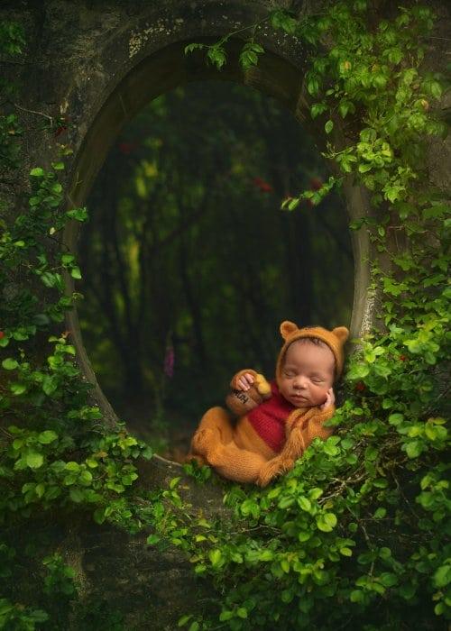 10 милейших кадров из фотосессий новорожденных