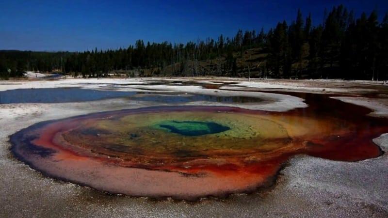 жуткие озера на планете