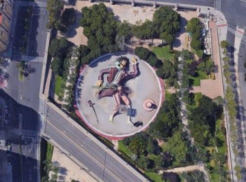 14 необычных снимков с Google карт