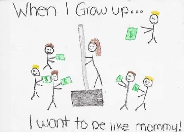 17 рисунков детей, которые можно понять не правильно