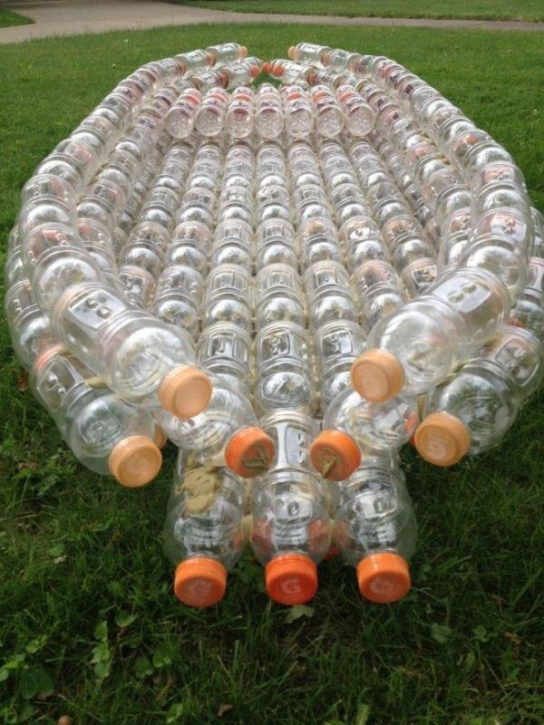 Лодочка из пластиковой бутылки