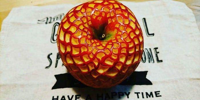 20 удивительных узорчатых фруктов, выполненных в стиле Мокимоно