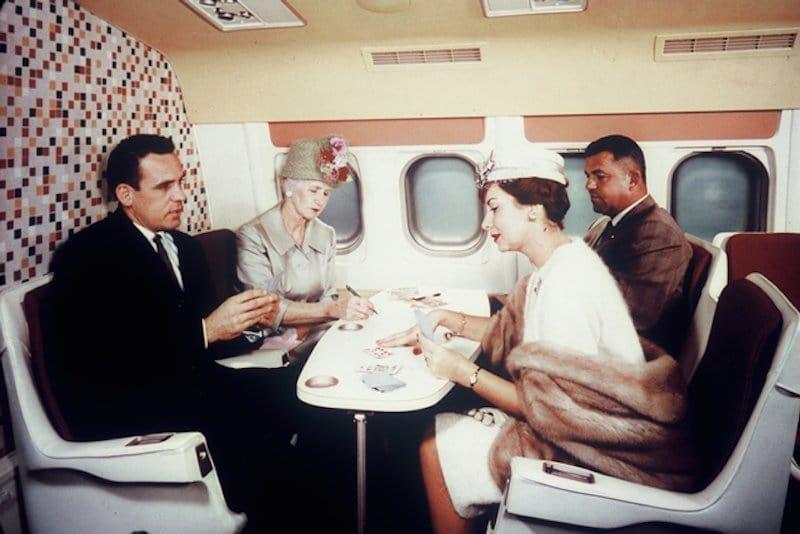 23 фотокарточки, которые показывают как раньше летали на самолетах