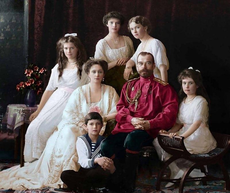 25 ретро фотографий в цвете: Россия в первой половине XX века