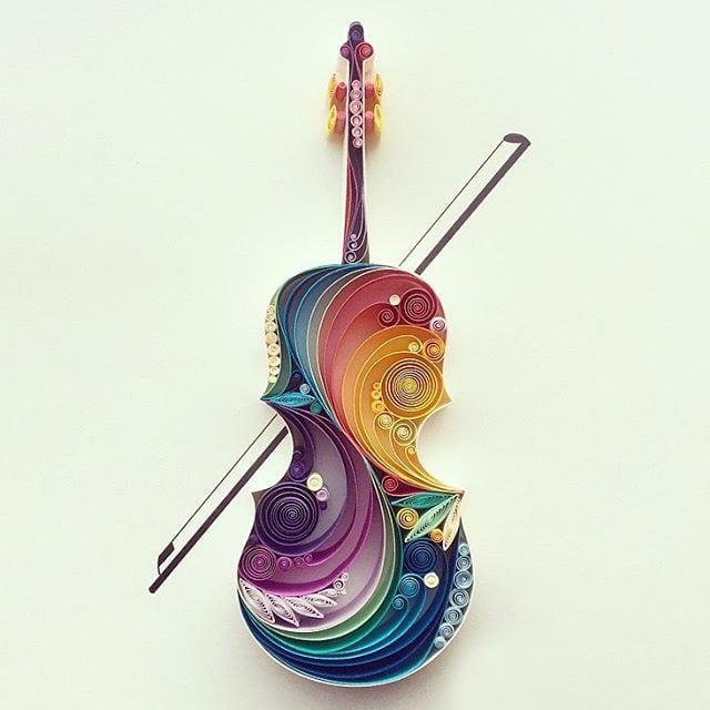 30 работ в стиле квиллинг от художницы из Турции