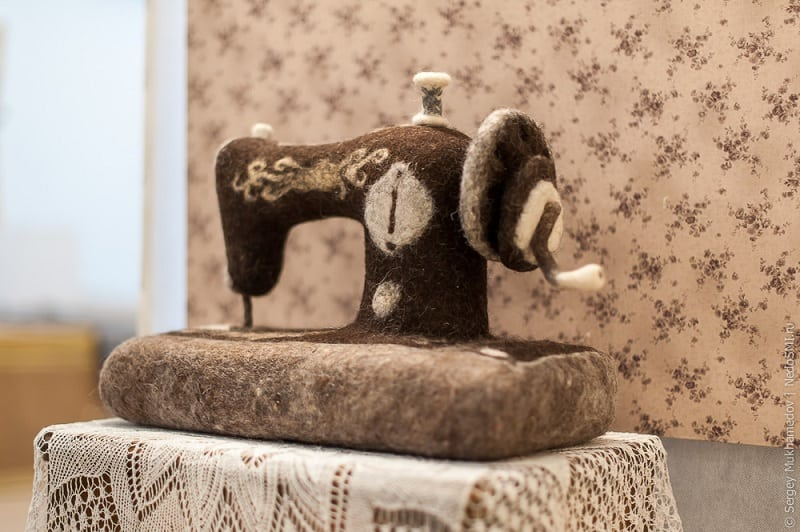 35 удивительных работ из войлока Ирины Андреевой