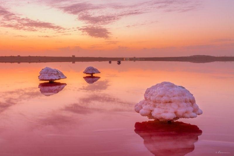 7 необычных озёр розового цвета о которых мало кто слышал